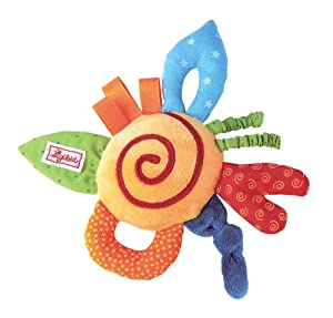 Sigikid 49070 - Sonajero de tela para bebé, multicolor - BebeHogar.com