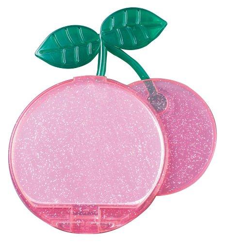 ヤマムラ チェリーコンパクトミラー ピンク