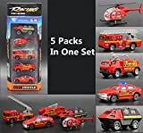 5pcs-in-One-Set-Alloy-Toy-Set-1-64-Sliding-Vehicles-Toddler-Toys-Best-Gift-Play-Set-with-Helicopter-Cars-and-Fire-Engine-for-Kids-Fire-Fighting-Set
