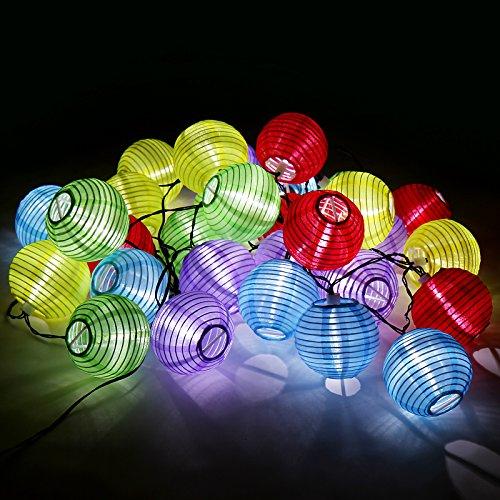 Guirlande solaire les bons plans de micromonde for Guirlande lumineuse exterieur solaire