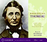 Essential Thoreau CD: Excerpts From the Journal of Henry David Thoreau