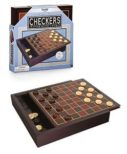 Checkers Premium in Wood Box