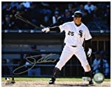 "Jim Thome Chicago White Sox Autographed 8"" x 10"" Pointing Bat Photograph - Fanatics Authentic Certified"