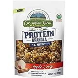 Cascadian Farm Snacks Organic Granola Bag, Apple Crisp Protein, 9 Ounce