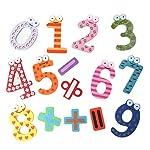 Souarts 2 Set Gemischt Zahlen Pattern Kühlschrank Magnet Dekor Wundsticker