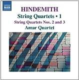 echange, troc  - Hindemith : Quatuors à cordes, Vol.1 - quatuors n° 2 et n° 3