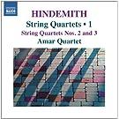 Hindemith : Quatuors � cordes, Vol.1 - quatuors n� 2 et n� 3