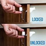FIX-IT-UP-Safety-Magnetic-Cabinet-Locks-Drill-Free-3M-Adhesive-Easy-To-Install-8-Locks-2-Keys