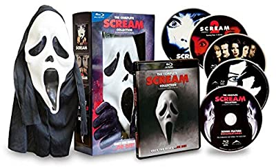 The Complete Scream Collection: Scream 1 / Scream 2 / Scream 3 / Scream 4 (with Mask) [Blu-ray]