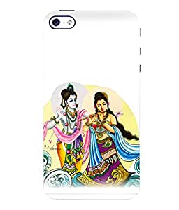 printtech Radha Krishna Beautiful Back Case Cover for Apple iPhone 4::Apple iPhone 4S