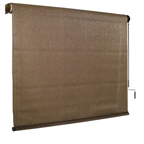 Coolaroo sun shade exterior cordless roller window blinds Cordless exterior sun shades