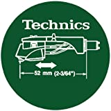 Technics DMC Turntable Slipmats (1 Pair) - Green/White