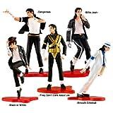 Set of 5 pcs Figure Box Set Michael Jackson Dolls