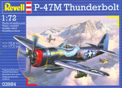 Revell Germany P-47M Thunderbolt Model Kit - 1