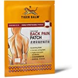 Tiger Balm Plaster, Back Pain Patch, Large (2 Package)