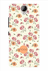 Noise Vintage Floral Printed Cover for HTC One E9 Plus