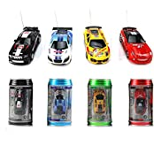 Nevco Multi Color Desktop Mini Rc Car Coke Can Radio Remote Control Car Kids Children Gift