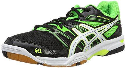 asics-gel-rocket-7-scarpe-da-pallavolo-uomo-multicolore-black-green-gecko-white-425-eu