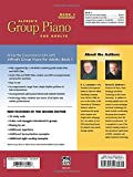 Alfreds Group Piano for Adults Student Book 1 (Second Edition): An Innovative Method Enhanced With Audio and Midi Files for Practice and Performance (Alfreds Group Piano for Adults)