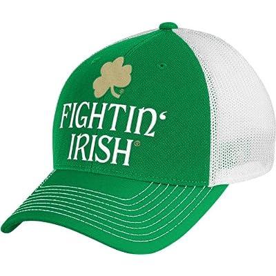 Notre Dame Fighting Irish Fightin' Mesh Flex Fit Hat / Cap sale off 2015
