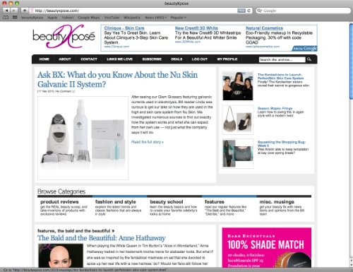 BeautyXpose Beauty Blog