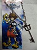 Kingdom Hearts Keyblade Silver Necklace