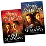 Virginia Andrews Shadows 2 Books Collection Pack Set (Girl In The, April Shadows)by Virginia Andrews