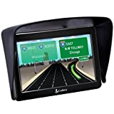 Patuoxun Satnav Sun Shade Glare Visor Shield for Universal 7 inch GPS Garmin Magellan RoadMate Cobra