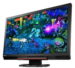 Eizo FS2333-BK 58,4 cm (23 Zoll) Widescreen TFT-Monitor (LED, 2x HDMI, DVI, VGA, 3,4ms Reaktionszeit) schwarz