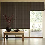 Presto Bazaar Brown Jacquard Window Blind (48 Inch X 44 Inch)