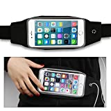 Running Belt, Mouselemur Durable Sport Exercise Running Belt Water Resistant Waist Pack With Touch Screen And...