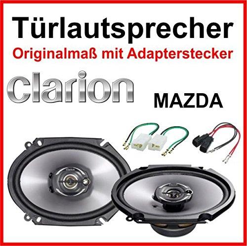 Clarion-6x8-speziell-fr-MAZDA-3-5-6-Vordere-Hintere-Tren