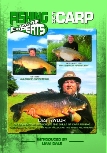 Fishing With the Experts - for Carp [DVD]