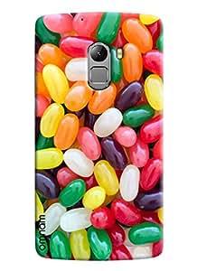 Omnam Colorful Pills Pattern Printed Designer Back Cover Case For Lenovo K4 Note