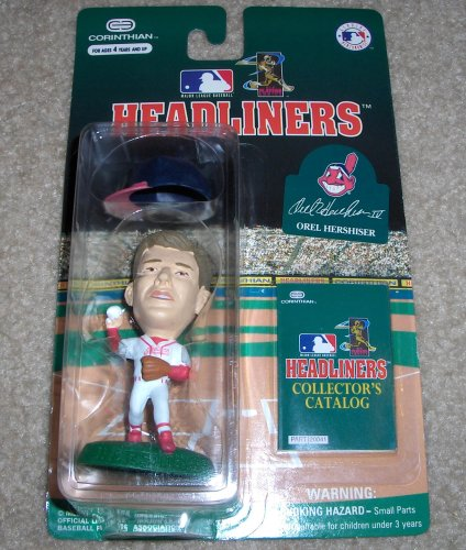 Picture of Corinthian 1996 Orel Hershiser MLB Headliners Figure (B000OR2RQE) (Corinthian Action Figures)