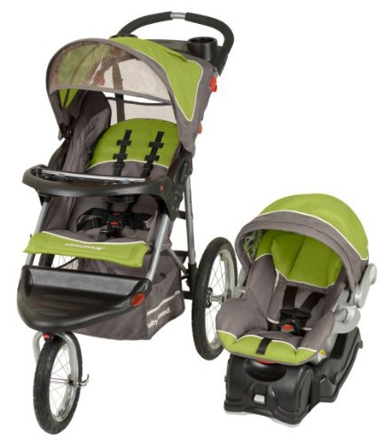 Baby Trend Expedition Jogger Jogging Stroller & Car Seat Travel System - Mojito