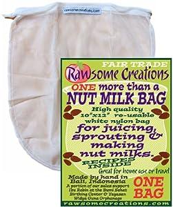 """More than a Nut Milk Bag"" by Rawsome Creations"