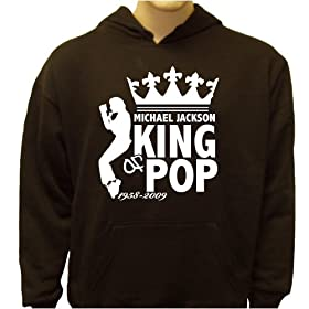 Michael Jackson is the King Hoodie