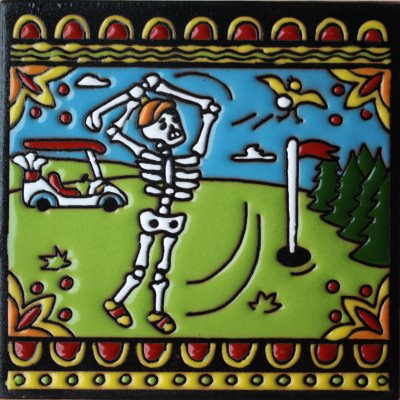 6x6-golf-day-of-the-dead-clay-tile