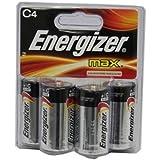 Energizer C Battery 4 Pack