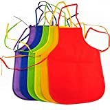 Artist 's Painting Apron 1 set assorted color