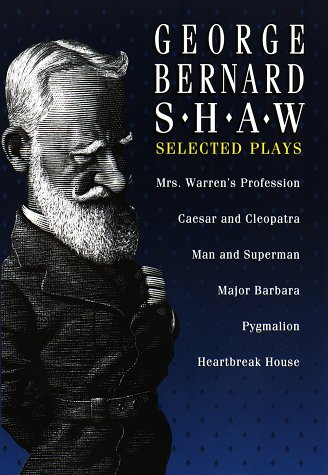Image of Selected Plays of George Bernard Shaw