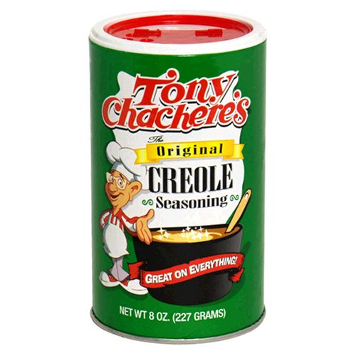 Tony Chachere's Creole Seasoning, 8-Ounce Shakers (Pack of 12)