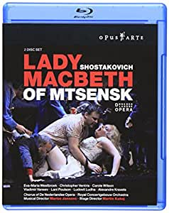 Lady MacBeth of Mtsensk [Blu-ray] (Sous-titres français) [Import]