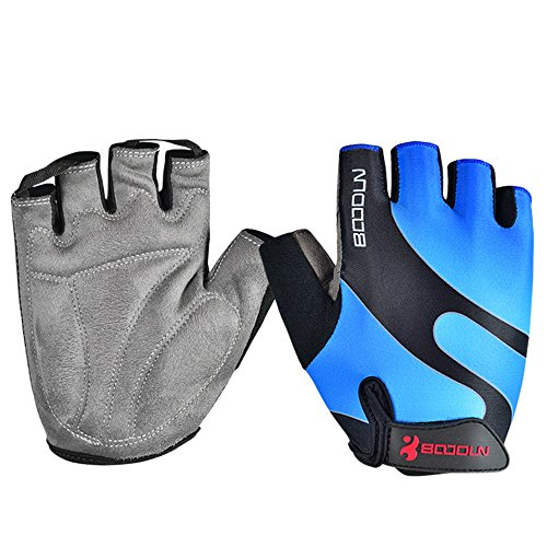 Anser 2130042 Riding Gloves Cycling Gloves Breathable Bike Gloves Sport Gloves for Children or Women (Blue, M) (Or Gloves Kids compare prices)