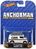 Hot wheels Anchorman '77 custom dodge van Retro series the legend of ron burgundy