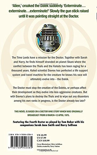 Doctor Who: Genesis Of The Daleks (Dr Who)