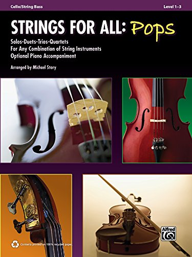 Strings for All: Pops: Cello/String Bass, Level 1-3