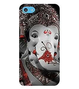 EPICCASE Lord Ganesh Mobile Back Case Cover For Apple iPod Touch 6 (Designer Case)