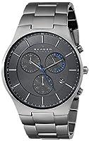 """Skagen Men's SKW6077 """"Balder"""" Titanium Watch with Link Bracelet by Skagen"""